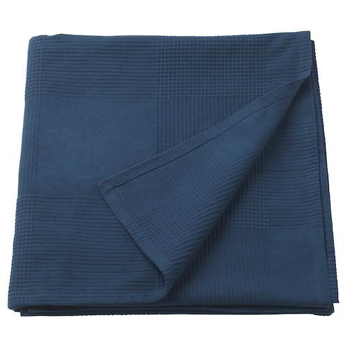 INDIRA bedspread dark blue 250 cm 150 cm