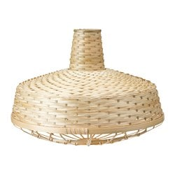 INDUSTRIELL pendant lamp shade, bamboo