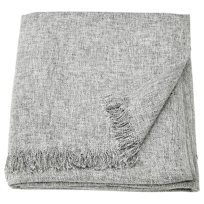 INGRUN Throw, grey, 130x170 cm