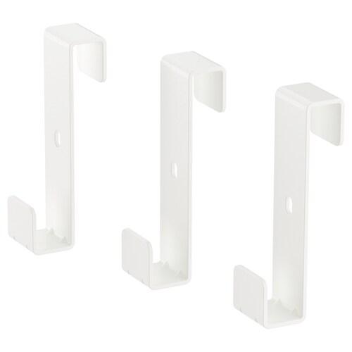 IVAR hook for side unit white 2 cm 3 cm 7 cm 2 kg 3 pieces
