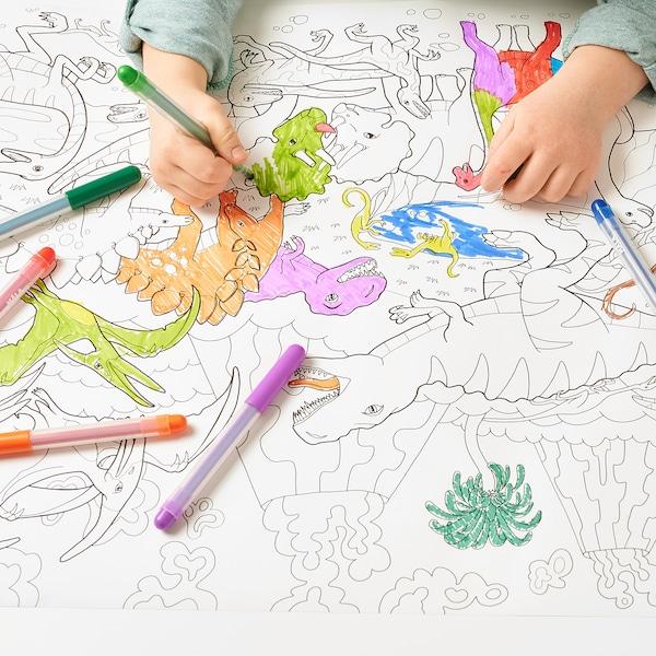 JÄTTELIK Colouring paper roll, 10 m