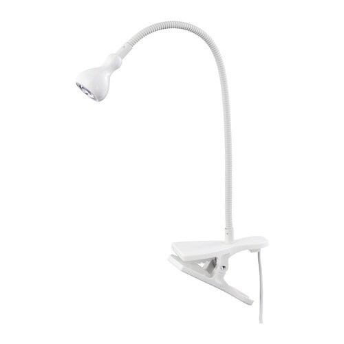Searchlight 6 LED Lights White Flexible Adjustable Wall Hallway Picture Light