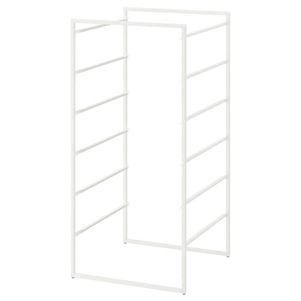 JONAXEL Frame, white, 50x51x104 cm