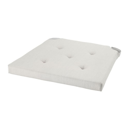 Cuscino Memory Foam Ikea.Justina Chair Pad Natural