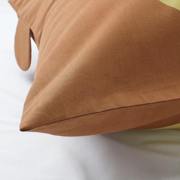 KÄPPHÄST quilt cover and pillowcase bear turquoise 200 cm 150 cm 50 cm 80 cm