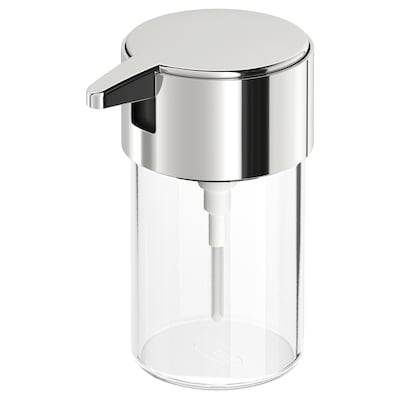 KALKGRUND soap dispenser chrome-plated 13.6 cm 250 ml