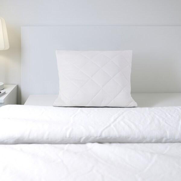 KLEINIA Pillow protector, white, 50x80 cm