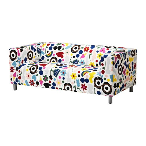 Divano Klippan Ikea.Klippan 2 Seat Sofa Fornyad Multicolour