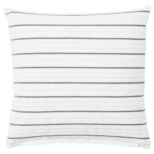 KONSTANSE cushion white/dark grey 40 cm 40 cm 250 g 375 g