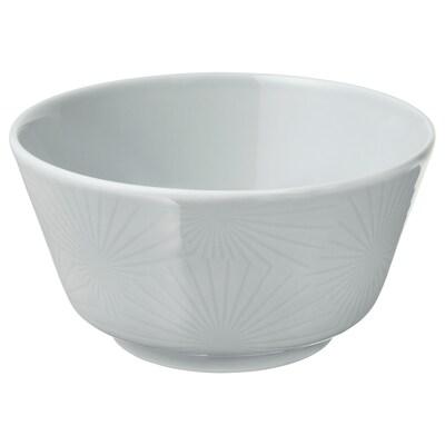 KRUSTAD Bowl, light grey, 14 cm