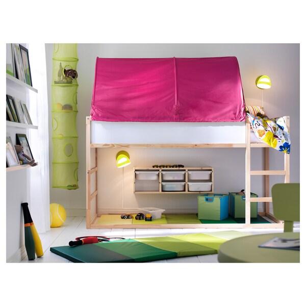 Kura Bed Tent Pink Ikea
