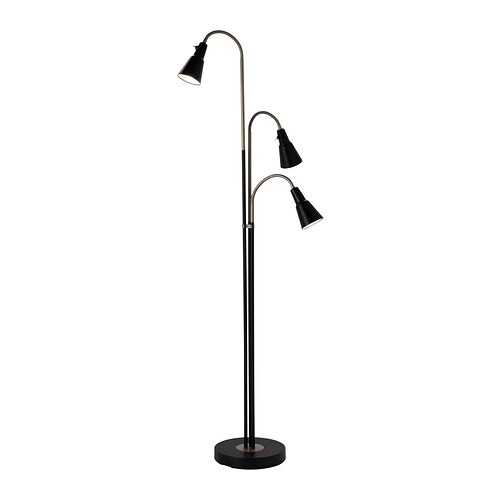 Kvart floor lamp with 3 spot ikea kvart floor lamp with 3 spot kvart floor lamp aloadofball Image collections