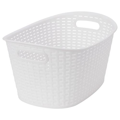 KYFFE basket plastic white 36 cm 26 cm 19 cm 2 kg