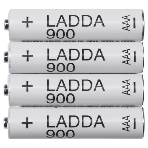 LADDA rechargeable battery 13 g 4 pieces