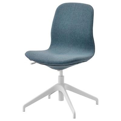 LÅNGFJÄLL conference chair Gunnared blue/white 110 kg 67 cm 67 cm 92 cm 53 cm 41 cm 43 cm 53 cm