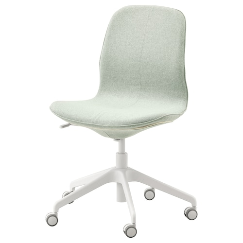 LÅNGFJÄLL office chair Gunnared light green/white 110 kg 68 cm 68 cm 92 cm 53 cm 41 cm 43 cm 53 cm