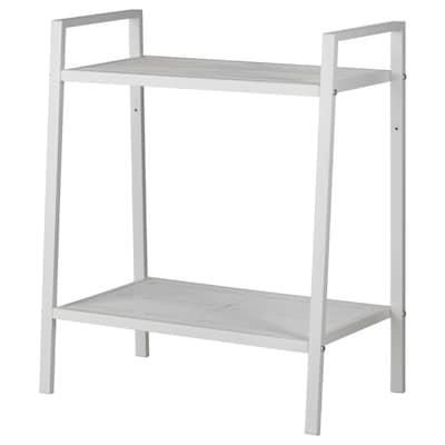 LERBERG Shelf unit, white, 60x70 cm