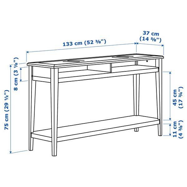 IKEA LIATORP Console table