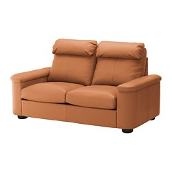 LIDHULT 2-seat sofa, Grann/Bomstad golden-brown