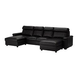 Leather & coated fabric sofas - Sofas & armchairs - IKEA