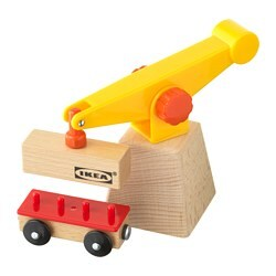 LILLABO 3-piece crane and wagon set