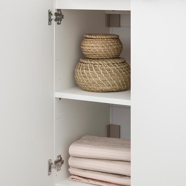 LILLÅNGEN / LILLÅNGEN Bathroom furniture, set of 5, white/Ensen tap, 61 cm
