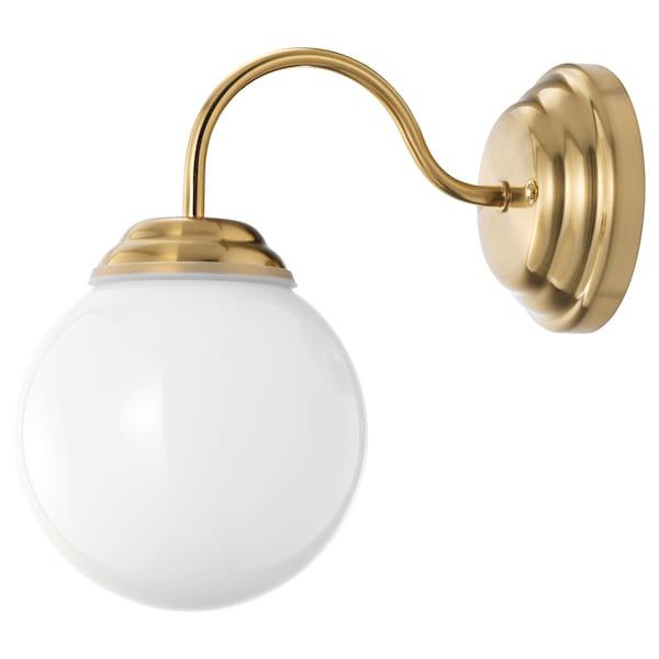 Lillholmen Wall Lamp Br Colour Ikea