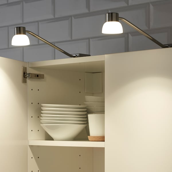 Led Cabinet Lighting Nickel Plated