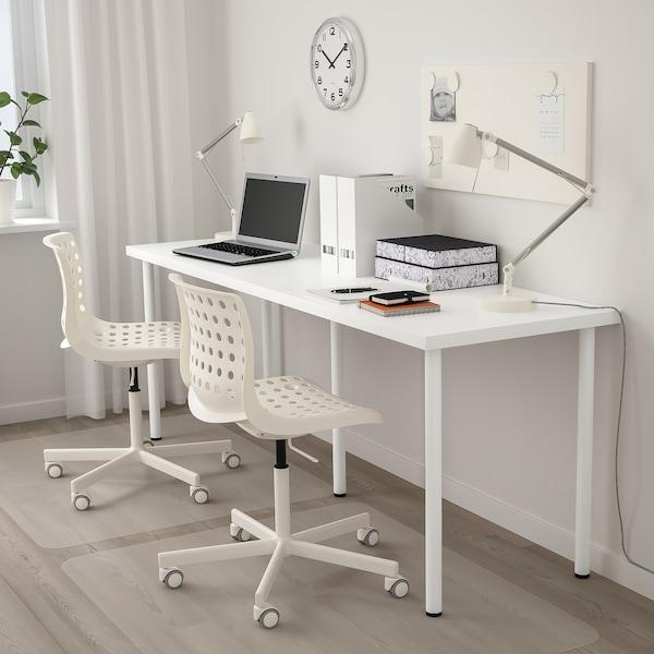LINNMON / ADILS table white 200 cm 60 cm 74 cm