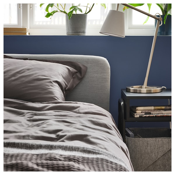 IKEA LUKTJASMIN Quilt cover and 2 pillowcases