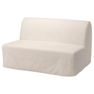 LYCKSELE LÖVÅS 2-seat sofa-bed, Ransta natural