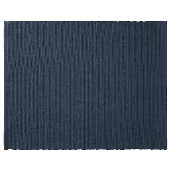 MÄRIT place mat dark blue 45 cm 35 cm