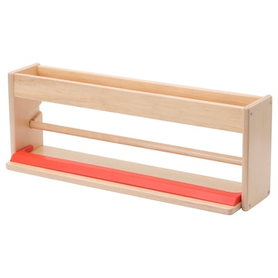 MÅLA Paper roll holder with storage