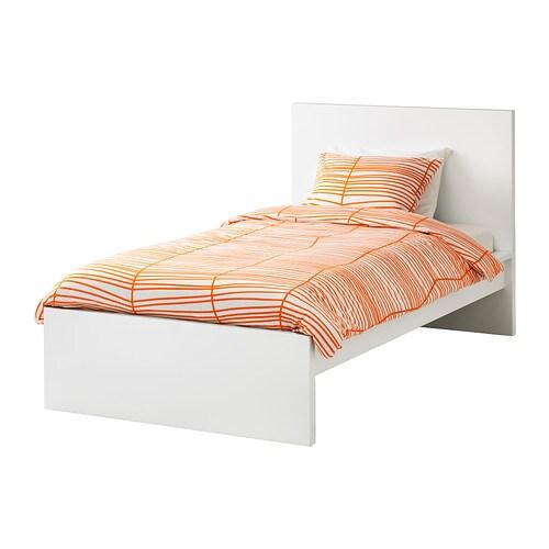 malm bed frame high 120x200 cm lury ikea - Malm Bed Frame