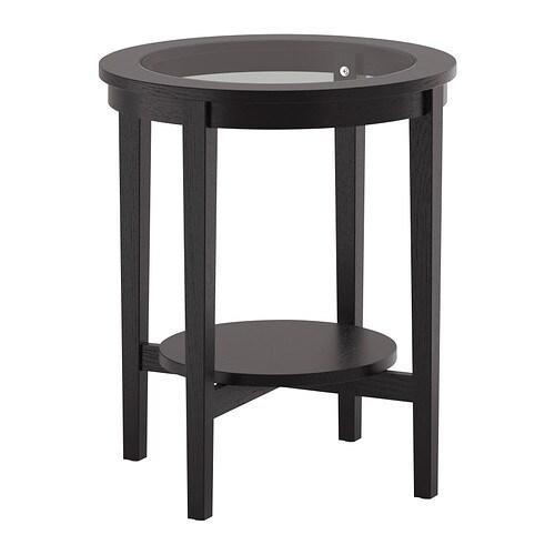 Malmsta Side Table Black Brown