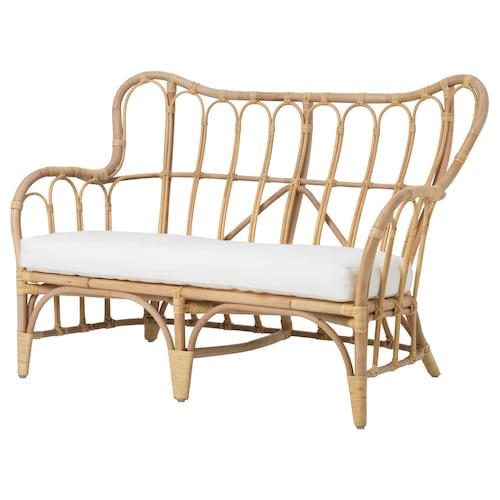 MASTHOLMEN 2-seat sofa, outdoor 118 cm 67 cm 80 cm 100 cm 50 cm 37 cm