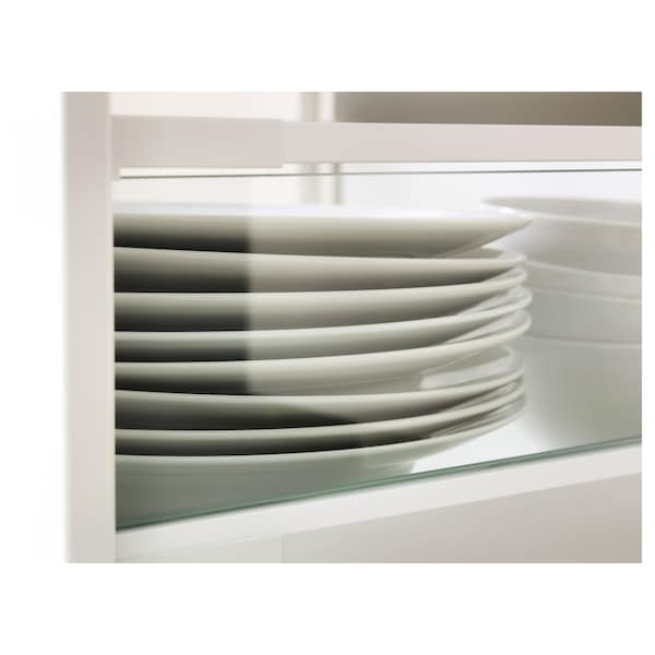 MAXIMERA Add-on side for drawer, high, glass, 60 cm