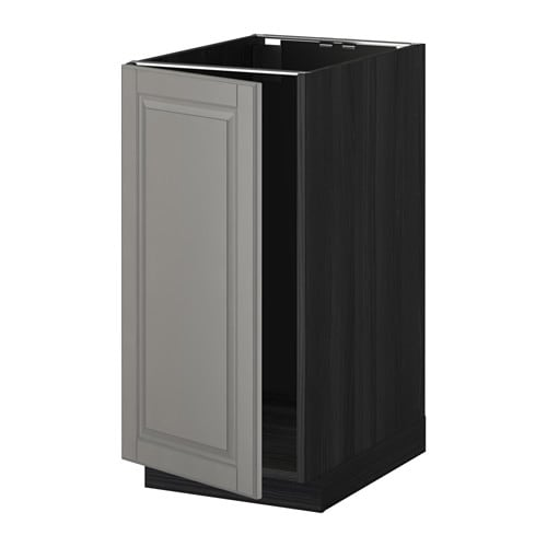 METOD Base cab f sink/waste sorting IKEA You can choose to mount the door on the right or left side.  Sturdy frame construction, 18 mm thick.