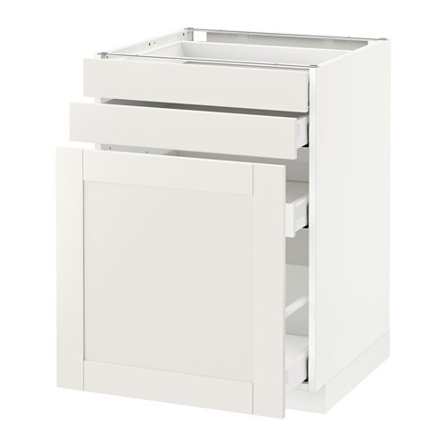 METOD Base cab pull-out storage/2 fronts IKEA