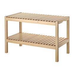 MOLGER bench, birch