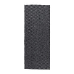 MORUM rug flatwoven, in/outdoor, dark grey in/outdoor