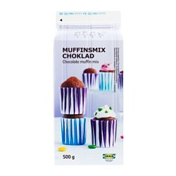 MUFFINSMIX CHOKLAD muffin mix, chocolate