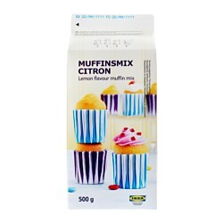 MUFFINSMIX CITRON muffin mix lemon flavour