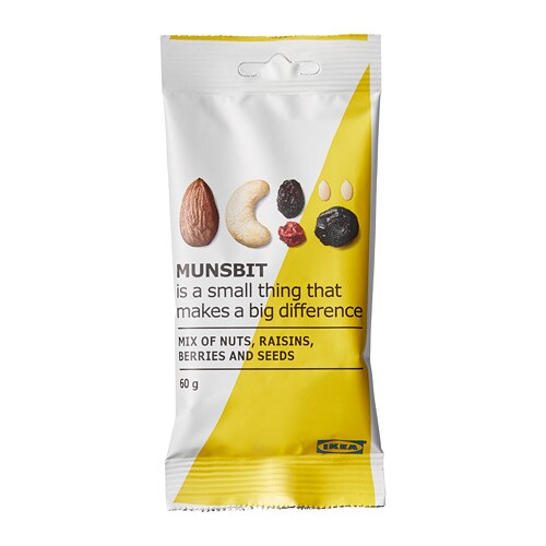 MUNSBIT Natural nuts/berries/raisins