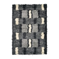 NAUTRUP rug, high pile, multicolour