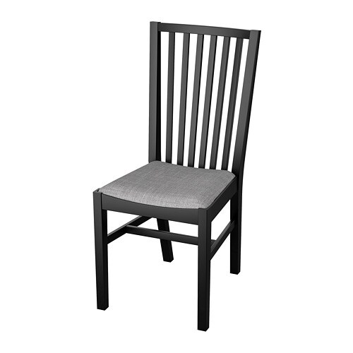 Superb Norrnas Chair Black Isunda Grey Pdpeps Interior Chair Design Pdpepsorg