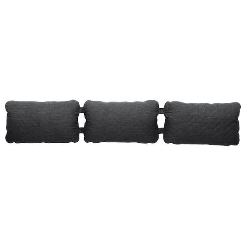NYHAMN triple cushion Skiftebo anthracite 200 cm 40 cm