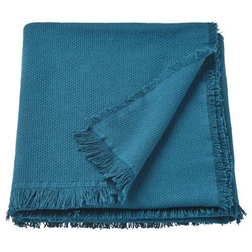 ODDRUN throw blue 170 cm 130 cm 760 g