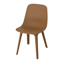 ODGER chair, brown