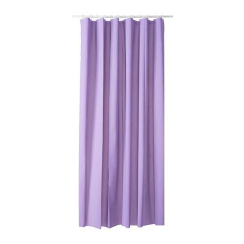 OLEBY Shower Curtain Lilac IKEA